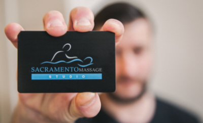 Massage Gift Cards Sacramento